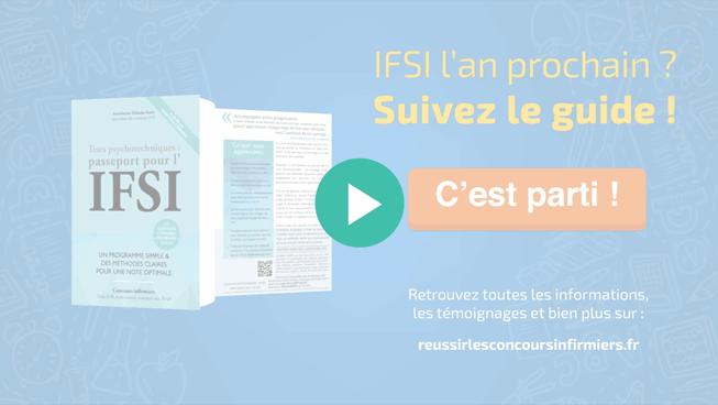Dompter<br> les tests<br> d'aptitude<br> aux IFSI